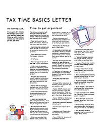 2018 Tax Time Basics
